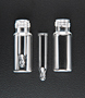 ZGD80209-1232 Clear Pre-Assembled Vial with Step Insert